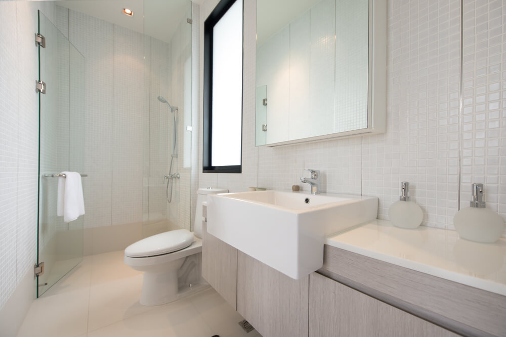 The Best Small and Functional Bathroom Design Ideas Bathroom Small Designs With Shower And Floor on small master bathroom with shower, small bathrooms with shower only, small bathroom shower plans, small bath with shower, bathroom with slanted ceiling in shower, small bathroom layout, small bathroom interior design, large bathroom with shower, small bathroom design door, transom windows above bathroom shower, high-tech bathroom shower, small bathroom budget makeover, rustic bathroom ideas with walk-in shower, small bathroom tile design, small showers for small bathrooms, dimensions for small bathroom with shower, small bathroom colors, bathroom layouts with shower, mediterranean bathroom shower, small bathroom ideas,
