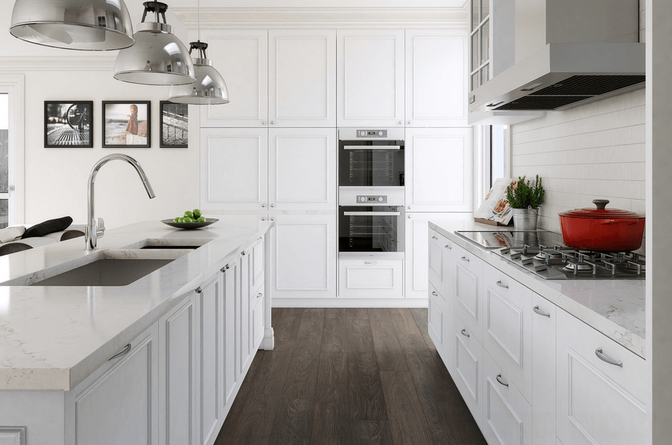 White Kitchen Cabinets. Collect This Idea White Island With Sink
