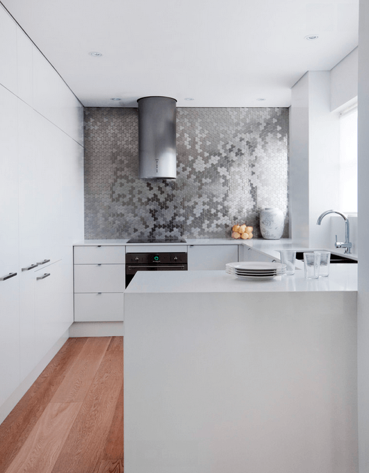 Contemporary Ideas White Kitchen Designs