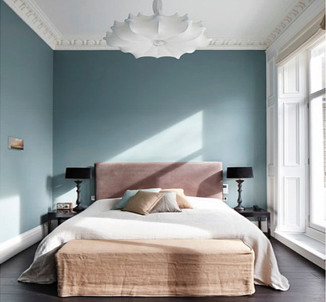 amazing Unique Bedroom Paint Ideas Part - 6: Blue Mood