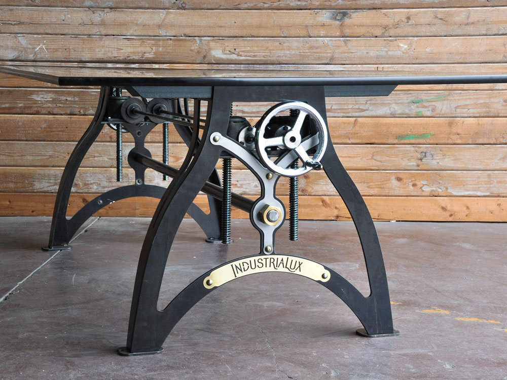 Vintage Industrial Crank Table Designs Crank Up Your Decor