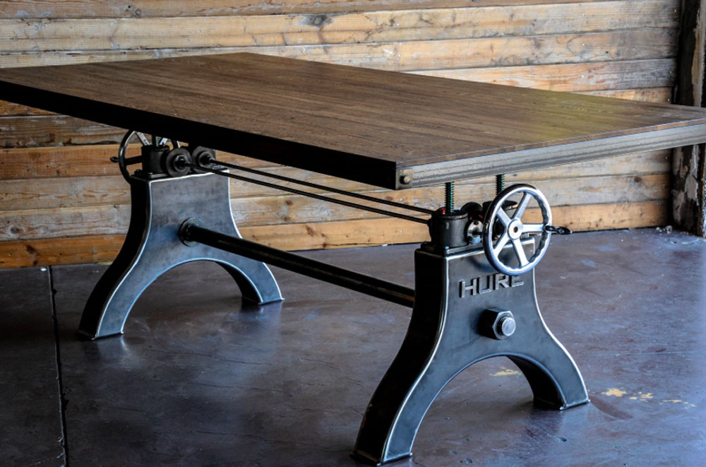 Crank Table design by Vintage Industrial (11)