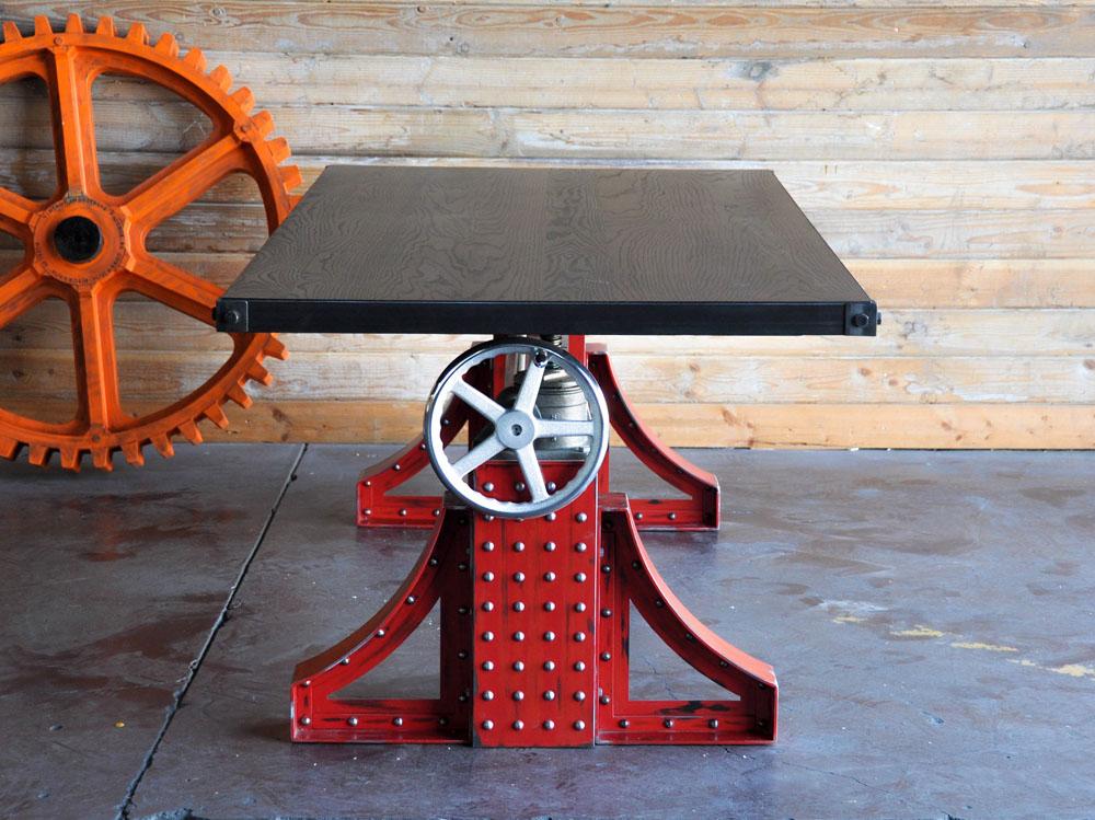 Crank Table design by Vintage Industrial (6)