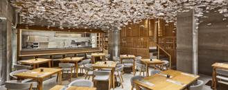 Dual Design In Spain Inspired By Japanese Culture:Nozomi Sushi Bar
