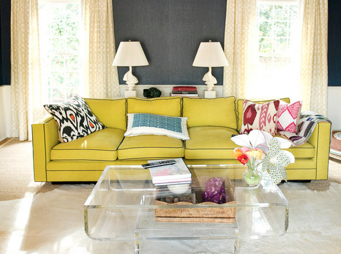 Decorating Ideas Living Room Source Accent Sofa