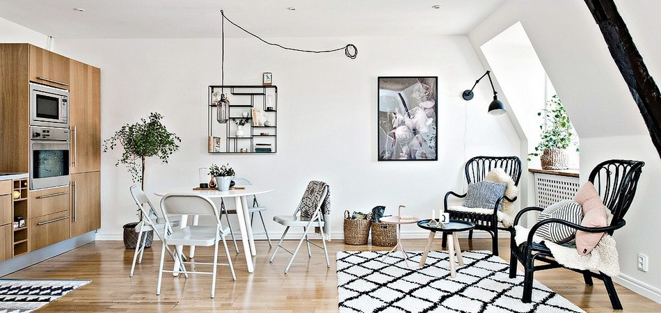 Design Ingenuity Exhibited by Small Scandinavian Apartment in Gothenburg