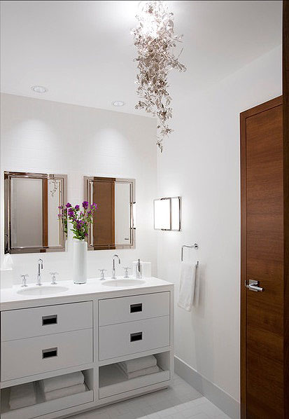 Phenomenal 30 Quick And Easy Bathroom Decorating Ideas Freshome Com Home Interior And Landscaping Oversignezvosmurscom