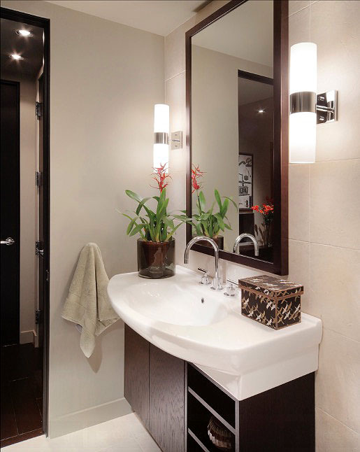 30 quick and easy bathroom decorating ideas | freshome