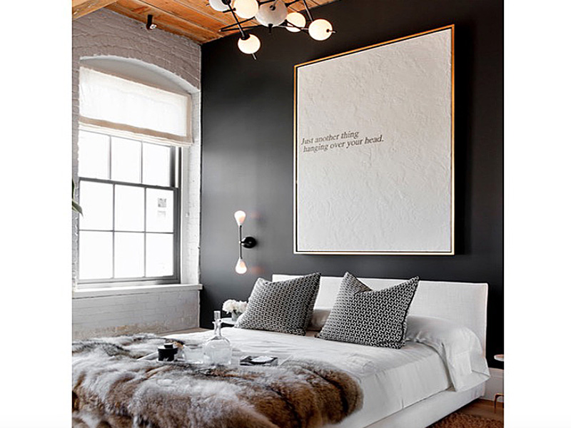 good Unique Bedroom Paint Ideas Part - 1: Collect this idea black-room