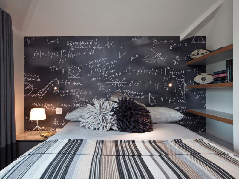 incredible Bedroom Ideas For Teen Girls Part - 16: Collect this idea chalk teen wall