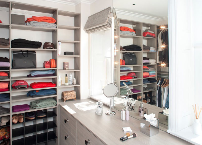 Impressive Yet Elegant Walk In Closet Ideas Freshome