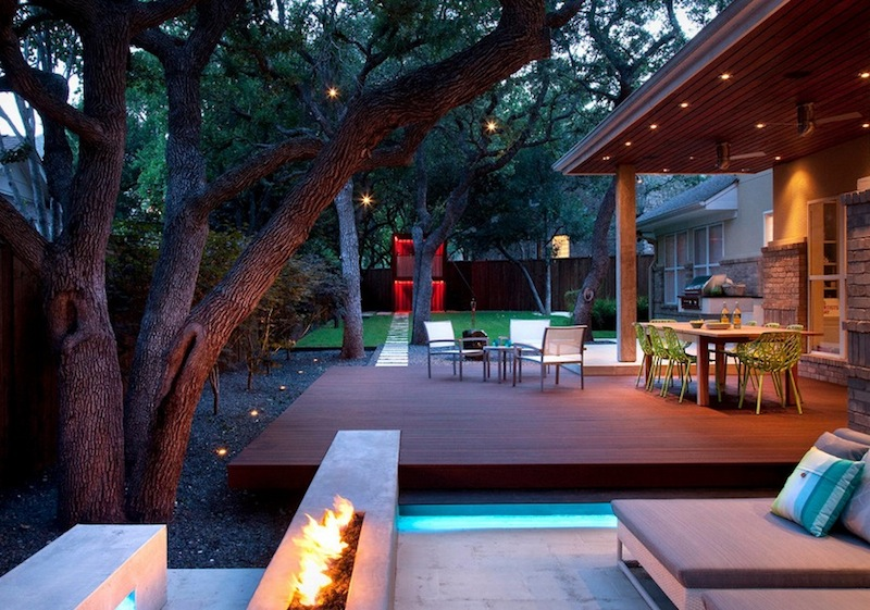 Separate Outdoor Areas