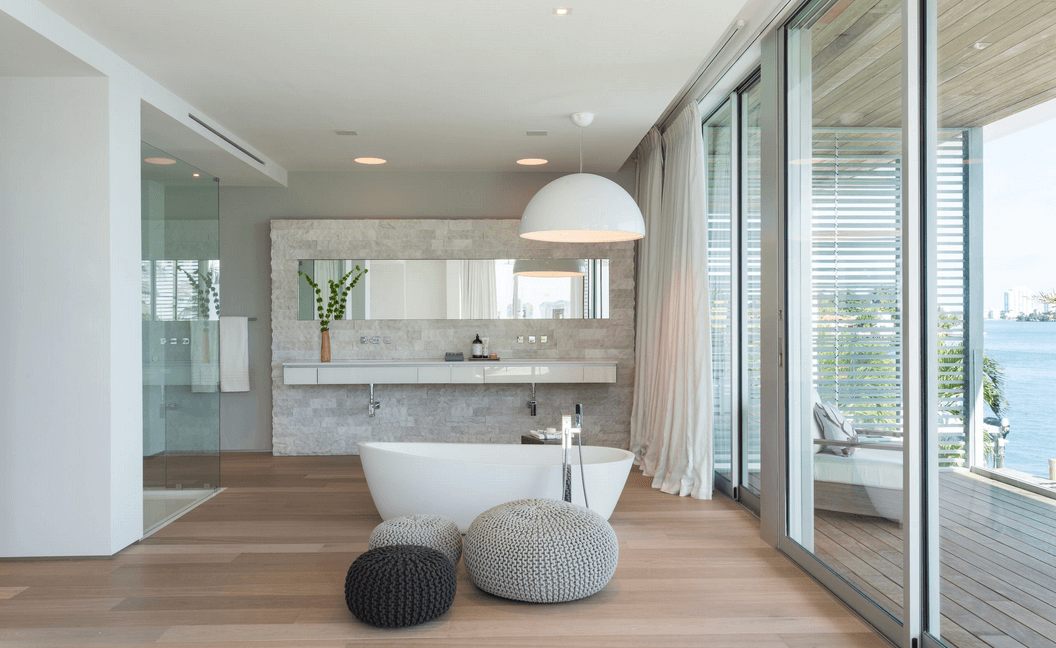 Collect This Idea Large Bathroom With Modern Tub