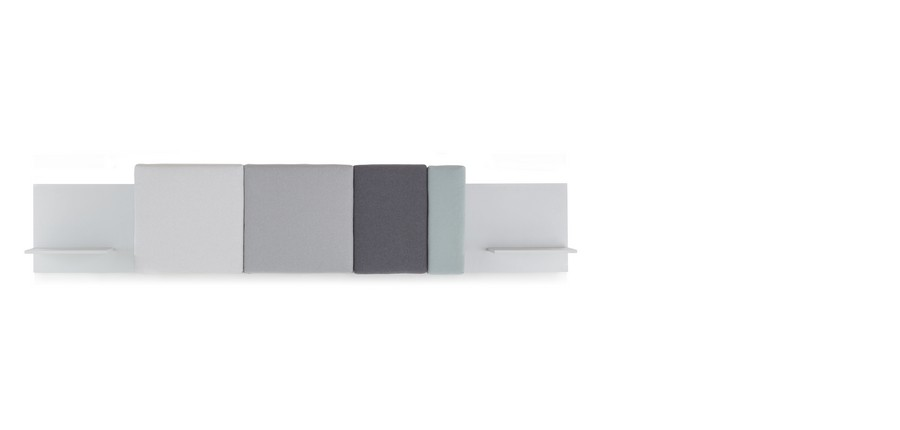 Stylish Pillows as Comfy Additions to Bed Headboard: Comoditi by