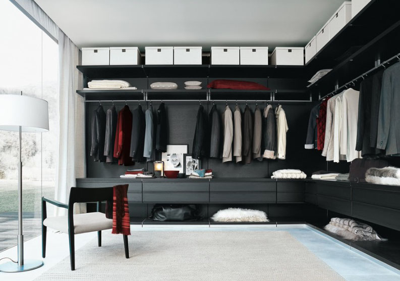 Impressive Yet Elegant Walk In Closet