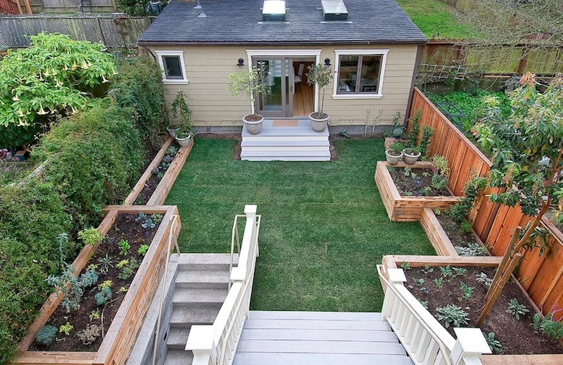 Collect this idea simple-yard - 15 Small Backyard Ideas To Create A Charming Hideaway