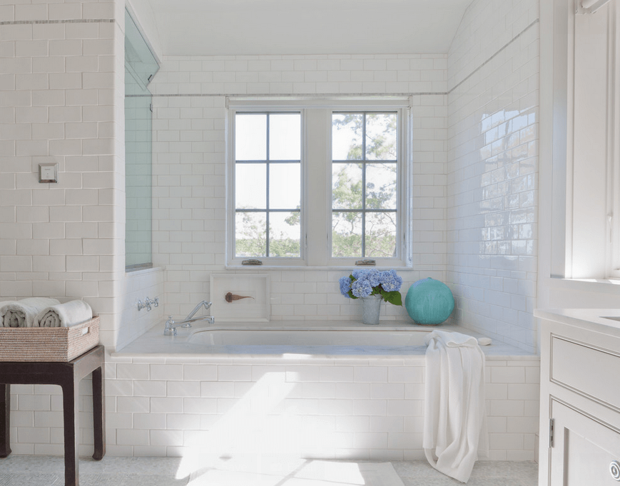 Collect This Idea Subway Tile Bath