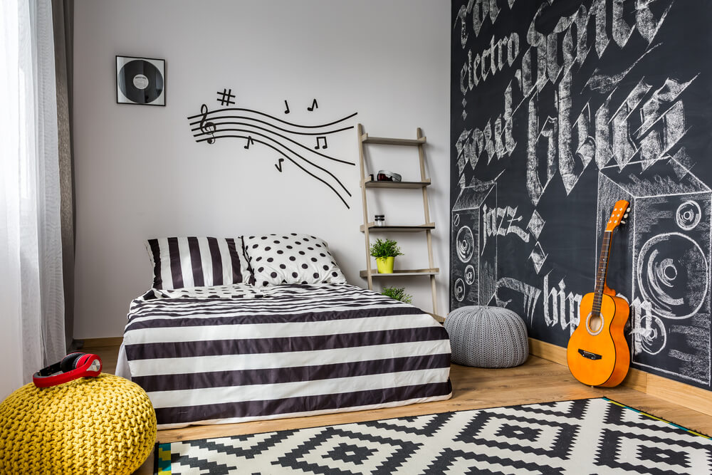 Most Beautifull Deco Paint Complete Bed Set: 16 Fun And Cool Teen Bedroom Ideas