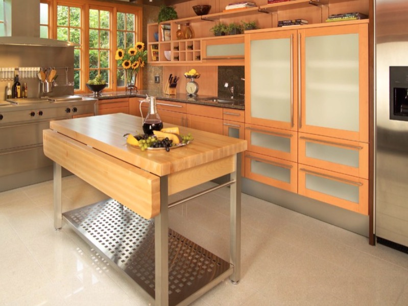 The Drop Leaf Kitchen Island