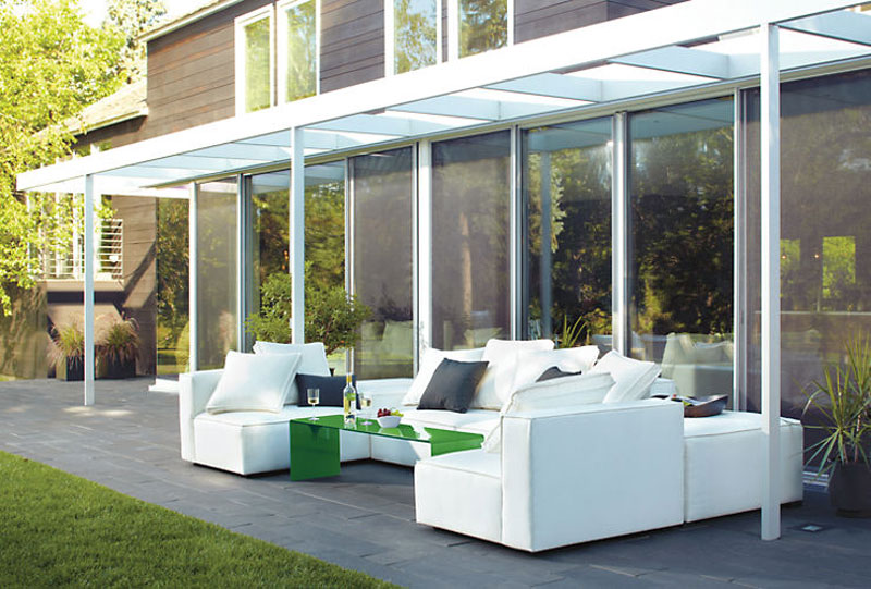 modern patio furniture - Freshome - Modern Patio Furniture That Brings The Indoors Outside - Freshome