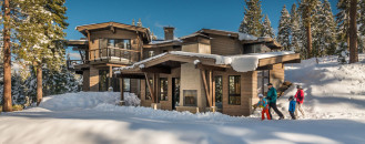 Second Home Near Lake Tahoe Lets You Ski to Your Door