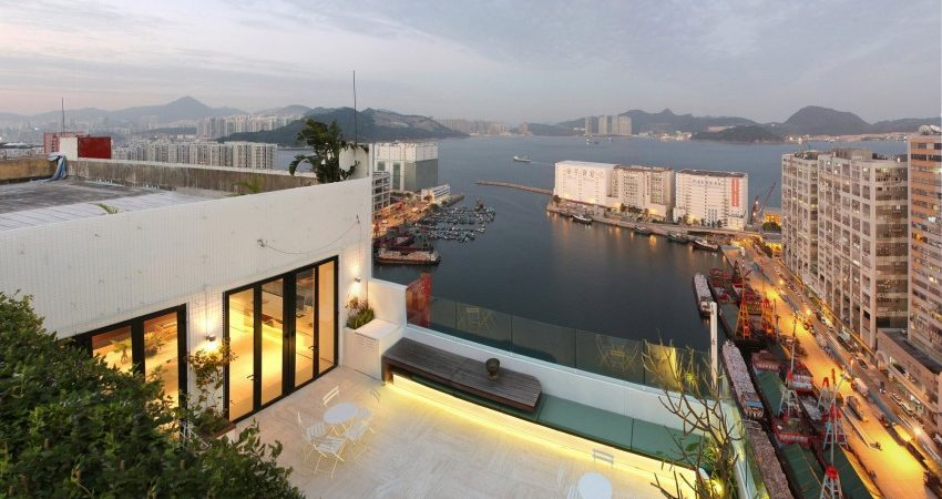 Cultural Space Atop Industrial Complex in Hong Kong: WING