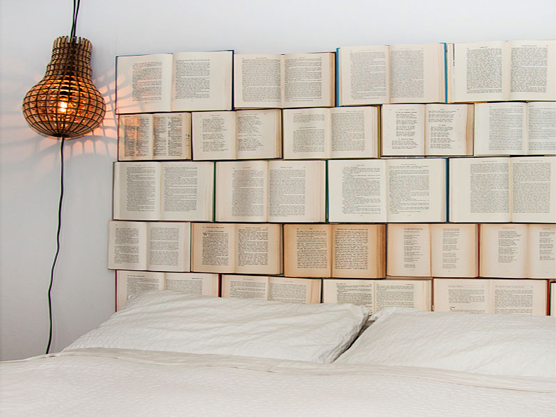 Recycled Object Headboards
