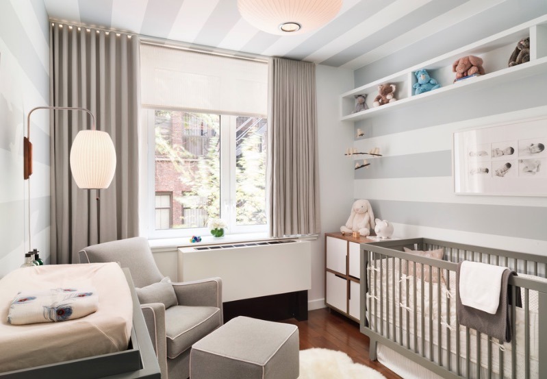 Baby Nurseries For Small Rooms Grey is the New Yellow
