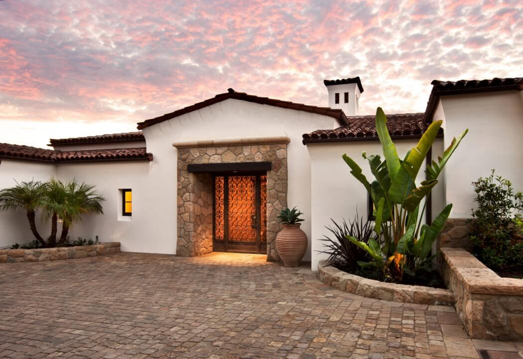 Traditional Hope Ranch Estate Hiding Modern Amenities In