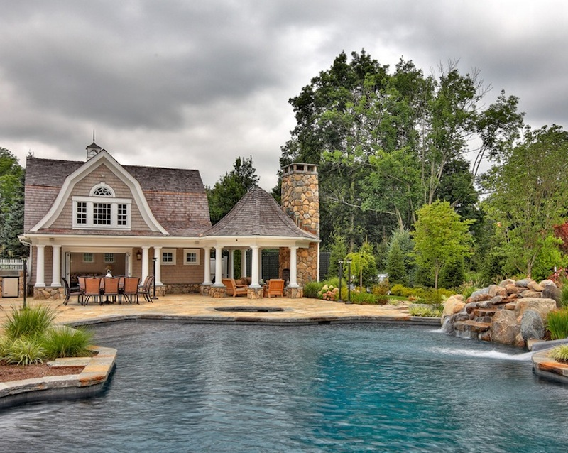 Pool Ideas: 15 Stylish Trends That Make a Statement on entry door designs for home, water fountain designs for home, a view designs for home, wheelchair ramp designs for home, deck designs for home, english pub designs for home, main gate designs for home, bar designs for home,