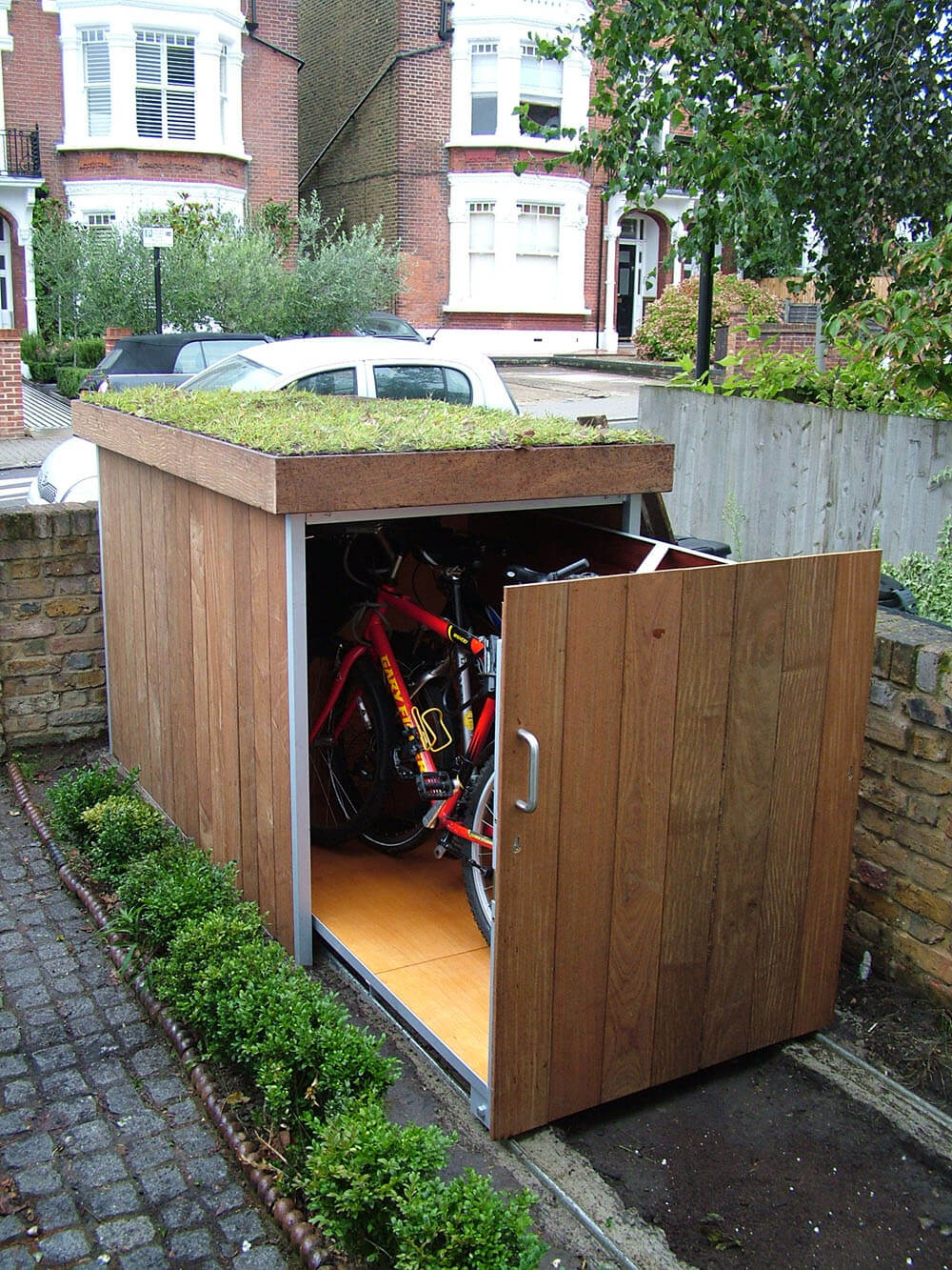 Outdoor Bike Garage (1)
