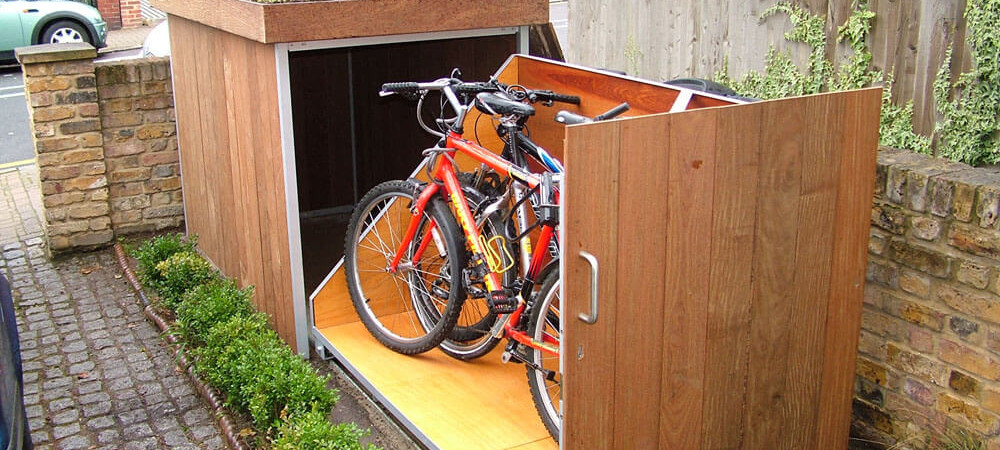 Upgrading Bike Storage Possibilities: Modern Outdoor Bike Garage