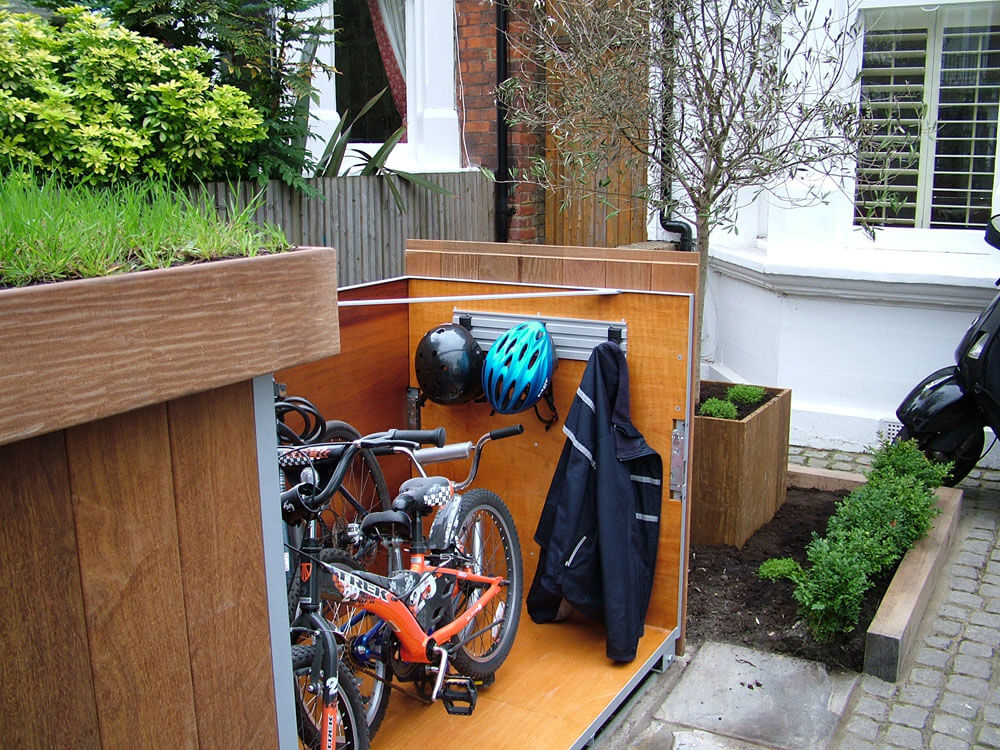 Outdoor Bike Garage (4)