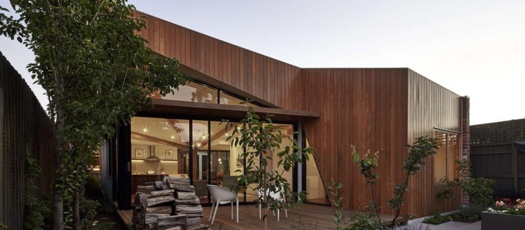 Charming Home for a Family of Five: The Diagonal House in Fitzroy, Australia