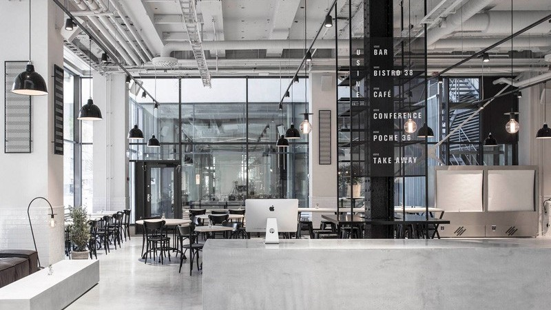 Tax Agency in Stockholm Converted into Elegant Restaurant by Richard Lindvall