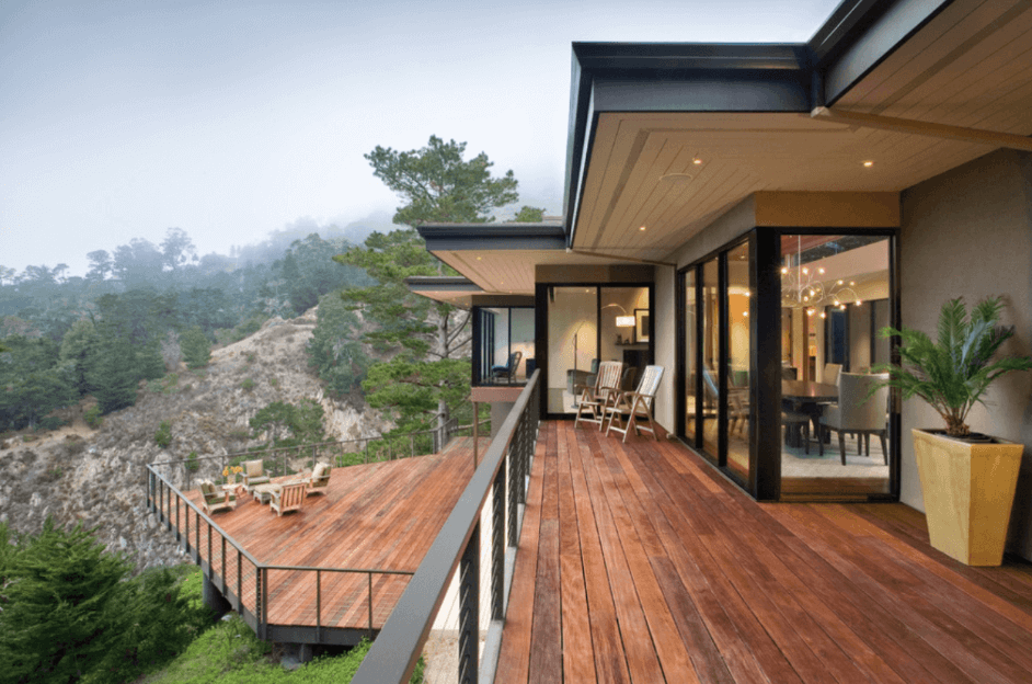 Collect This Idea Multi Level Hillside Deck