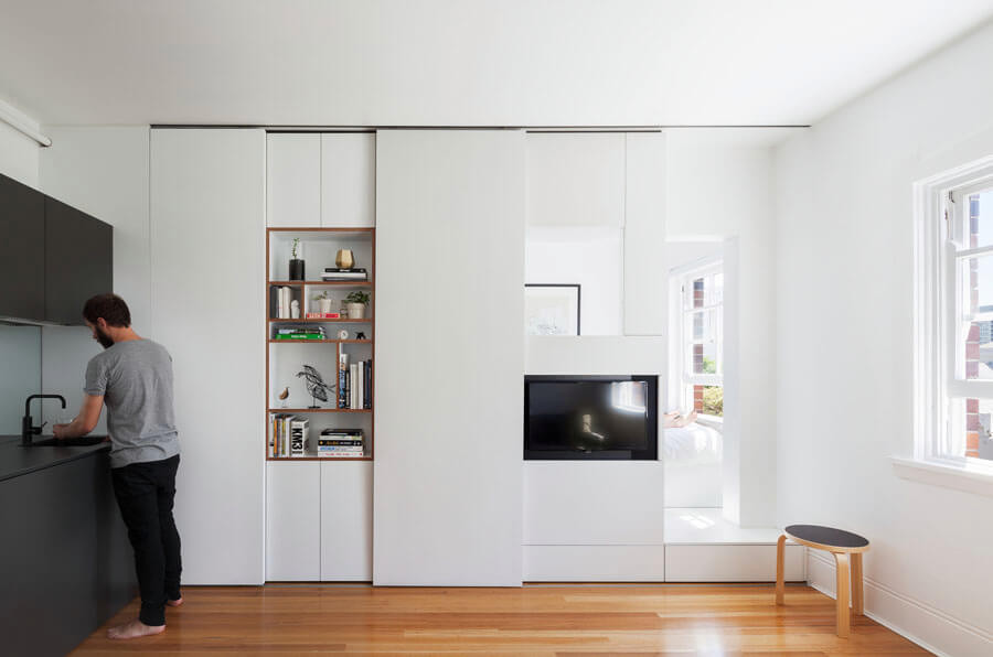 Small Apartment Design Solving Function and Style Issues