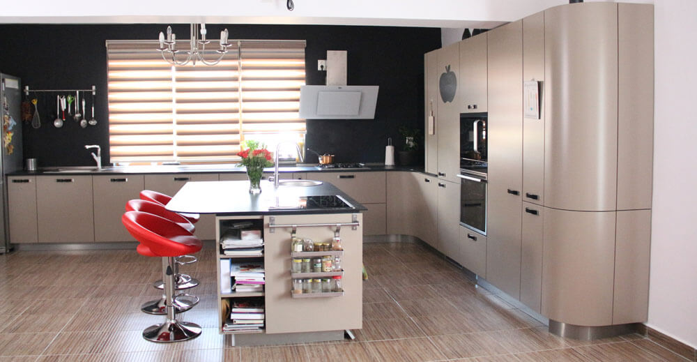 TV studio kitchen for Oana Grecea by Euphoria Kitchens Hall (3)
