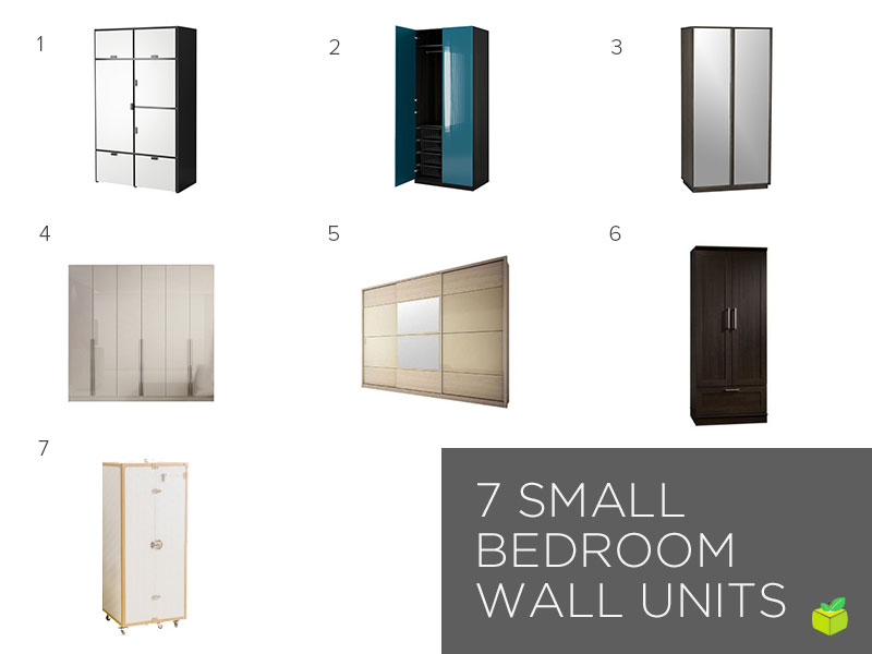 SpaceSaving Furniture For Your Small Bedroom Interesting Bedroom Storage Units For Walls