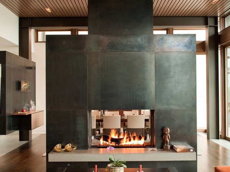 2 This Modern Fireplace