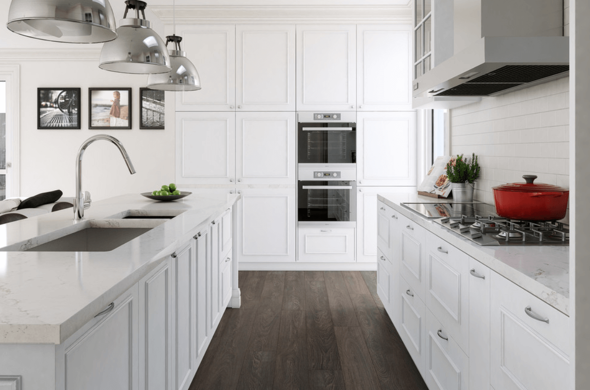 Classic White Kitchen Cabinet Ideas Exterior