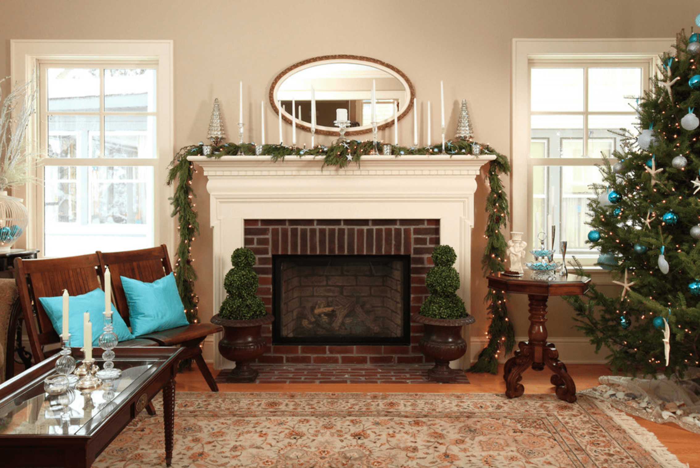 Awesome Mantel Decorating Ideas Freshome Home Interior And Landscaping Dextoversignezvosmurscom