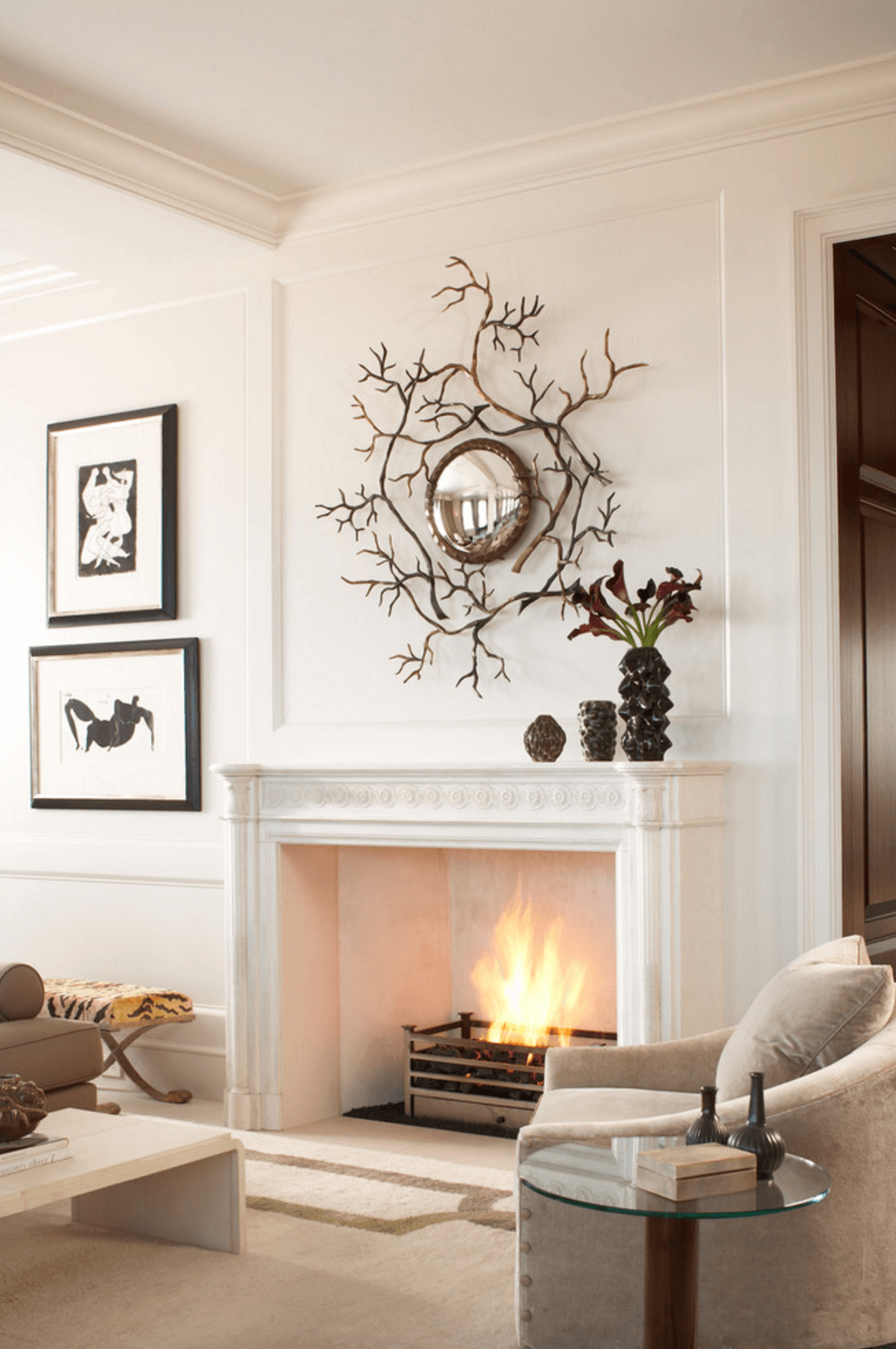 Mantel Decorating Ideas Freshome