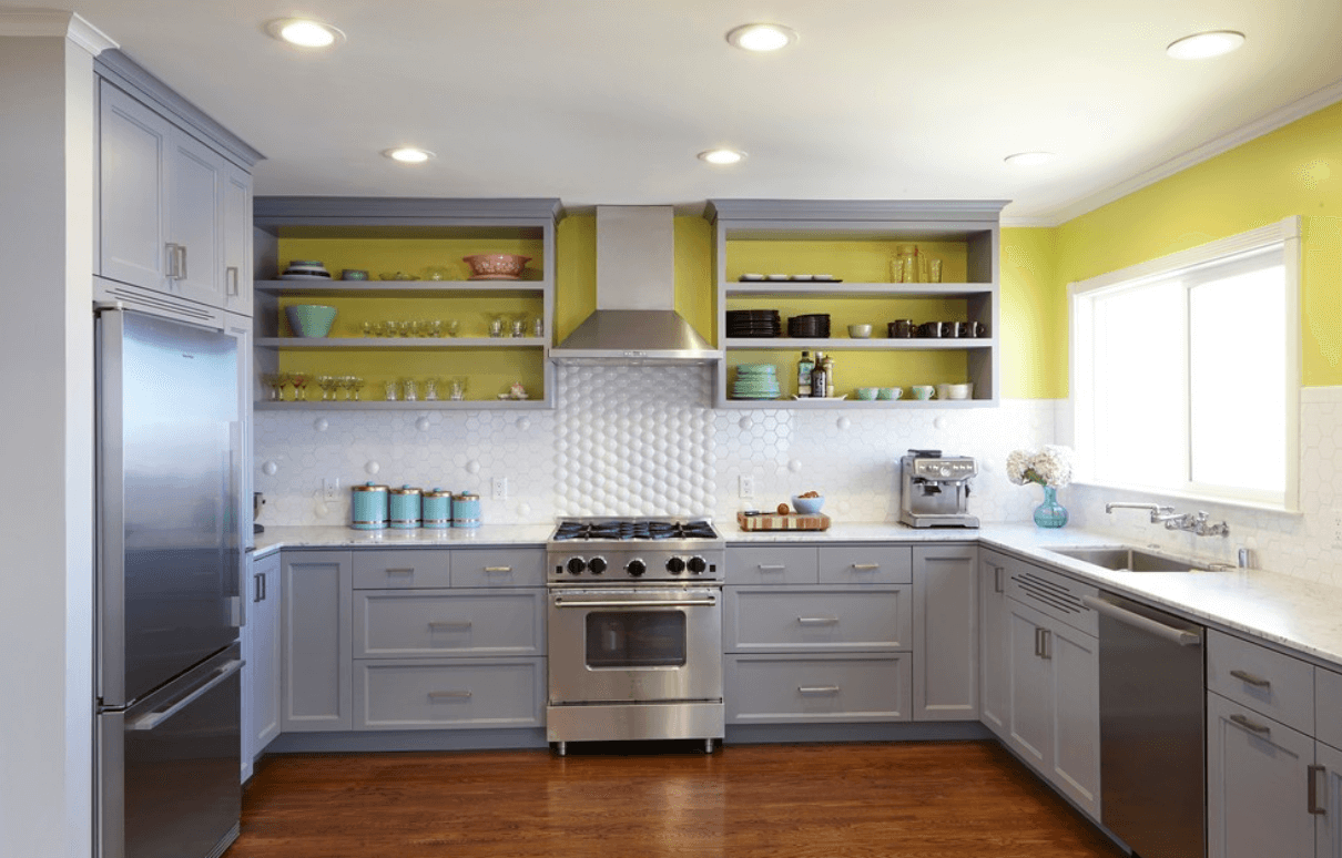 green-white-grey-kitchen