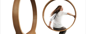When Indoor Living Becomes Child's Play: Swing Chair by Iwona Kosicka