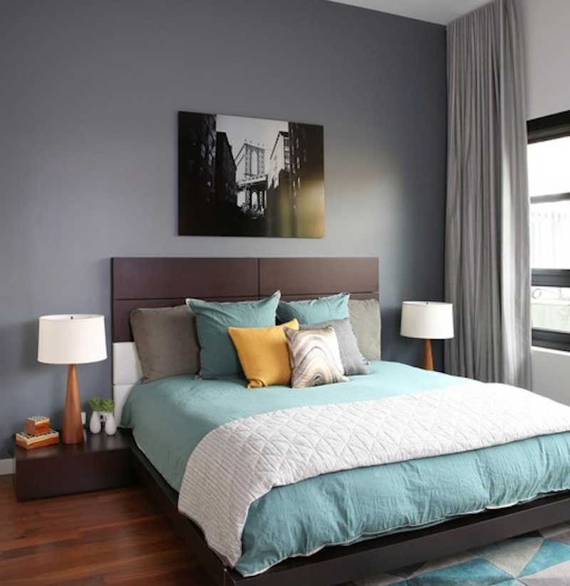 Color For Bedroom With Brown Furniture