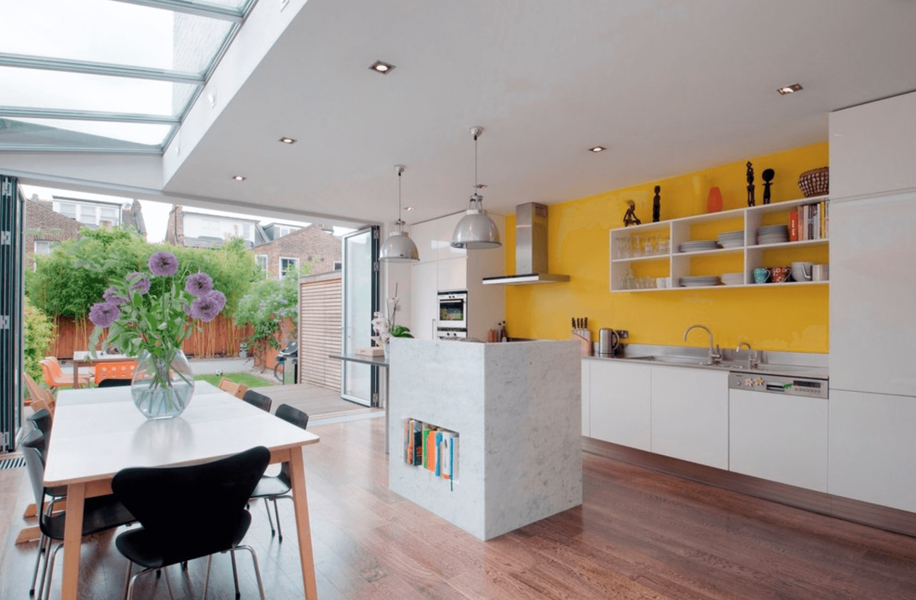 innovative yellow kitchen wall paint ideas | Kitchen Color Ideas - Freshome