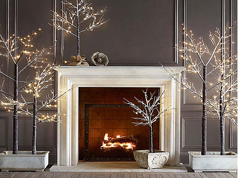 Christmas Home Decor.Modern Christmas Decorating Ideas Freshome