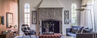 Massachusetts Tudor Marries Traditional, Contemporary