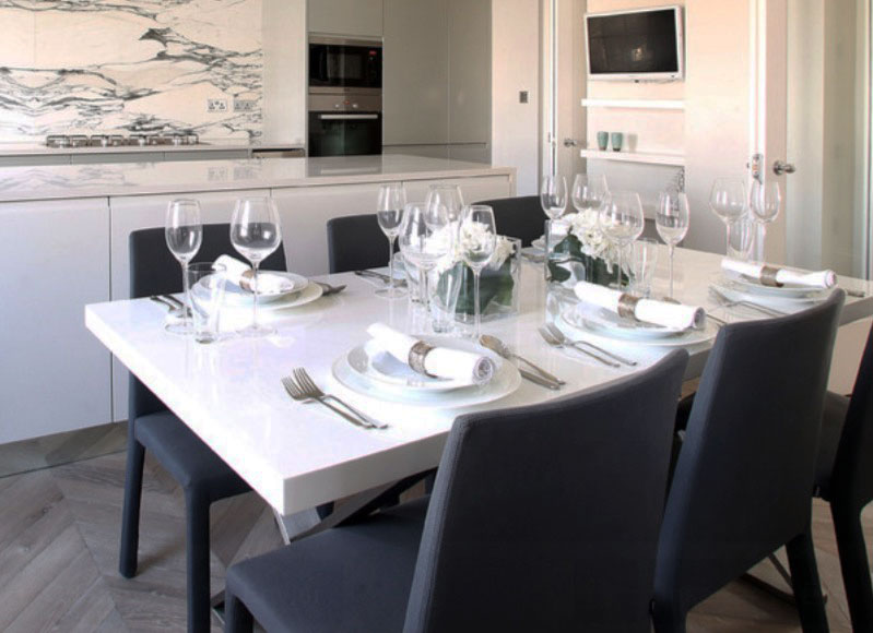 Dining Table Cloth Designs | Modern Table Setting Ideas Freshome